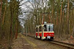 Tatra T6A2 #226_001-2 DVB Straßenbahnmuseum Dresden Drezno (3x105Na) Tags: tatra t6a2 2260012 dvb strasenbahnmuseum dresden drezno strassenbahn strasenbahn tram tramwaj deutschland niemcy germany sachsen saksonia