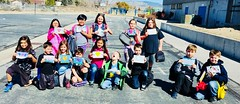 Nevada 3rd graders make Valentines to invite their families to the Reno Mama Summit