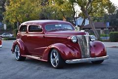 22nd Annual La Verne Cool Cruise (USautos98) Tags: 1938 chevrolet chevy sedan hotrod streetrod custom