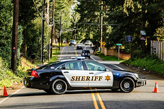 Residential Fire in Lynnwood (andrewkim101) Tags: caprice ppv chevrolet lynnwood wa washington state snohomish county sheriffs office