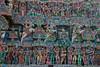 Temple de Sarangapani, Kumbakonam, Tamil Nadu, Inde (Pascale Jaquet & Olivier Noaillon) Tags: décoration gopuram religionhindouisme temple sculptures kumbakonam tamilnadu inde ind