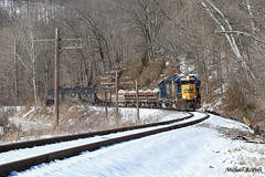 CSXT 2704 @ Medora, IN (Michael Polk) Tags: baltimore ohio mississippi csxt j780 emd gp382 gp402 freight train indiana subdivision