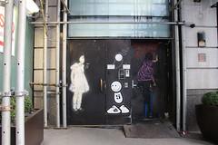 IMG_4879 (ShellyS) Tags: buildings nyc newyorkcity manhattan doors graffiti