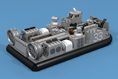 DA3 LCAC (ABS Shipyards) Tags: lego decisive action 3 da3 ship landing craft air cushion lcac hovercraft military