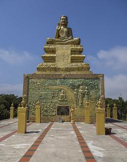 Bokor golden Buddha
