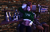 Kiss Me I'm Irish (Emerald Rebelheart) Tags: stpatricksday maitreya bento secondlife irish bar pub smoking catwakimberly catwa clover woman female flickr shadow drinking shamrock holiday st patricks day patty