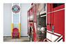 Melbourne Beach Volunteer Fire Dept. (Jill Bazeley) Tags: melbourne beach volunteer fire department florida brevard county space coast truck firetruck engine adirondack chair logo insignia crest town sony a6300 1670mm