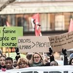 Manifestation contre le