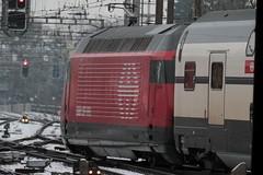 SBB Lokomotive Re 460 110 - 0 mit Taufname Mariaberg ( Hersteller SLM Nr. 5677 - ABB  - Inbetriebnahme 1.9.9.5 - Elektrolokomotive Triebfahrzeug ) am Bahnhof Bern im Kanton Bern der Schweiz (chrchr_75) Tags: christoph hurni chrchr75 chrchr chriguhurni chriguhurnibluemailch märz 2018 schweiz suisse switzerland svizzera suissa swiss
