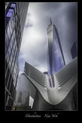 One World Trade Center (vonhoheneck) Tags: oneworldcenter newyork nyc schoelkopf schölkopf skyscraper manhattan usa passageway wtc fultoncenter canon eos 6d