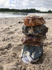 A cairn with a view... photo©jadoretotravel (J'Adoretotravel) Tags: waterlife dogbeach queenslandbeaches lifeisabeach goldcoastbeaches stonestack australianbeaches queensland mygoldcoast goldcoast palmbeach cairnonabeach stonecairn cairn jadoretotravel beachlife