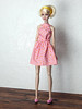 """""""Bright"""" up your life - the pink polka dot dress (Levitation_inc.) Tags: ooak handmade doll dolls clothes dress outfit levitation levitationfashion etsy poppy parker bright nuface fashion royalty integrity toys barbie barbiestyle colorful colors mod joyful japan"""