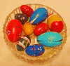 Egg-stra bright 🎨 (boeckli) Tags: easter eggs eier ostern bright colourful bunt farbig textures texturen texture textur topaz topazsimplify rund kreis circle round indoor indoors smileonsaturday eggcellent