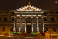 Congress of Deputies (nieves.valderrama) Tags: architecture building cityatnight citylights clearnight lowlight lowlightphotography madrid madridmemola nightlights nightphotography nightscene nightshot nightscape nightscaper nofilter outdoor picoftheday spain themadridbible