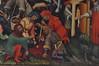 Hildesheim, Niedersachsen, Lambertikirche, altar, detail (groenling) Tags: hildesheim niedersachsen deutschland germany hi de lambertikirche stlamberti altar paint painting gemälde passion jesus crucifixion kreuzigung cross kreuz saint heilige soldier soldat dice würfelstein robe mantel