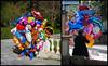 The Balloon Man (Dave_Davies) Tags: athens greece balloon seller candid street