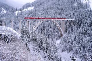 Trainspotting | Langwieser Viaduct, Switzerland