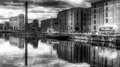 Liverpool Waterfront.. (Philip R Jones) Tags: liverpool hss sliders sliderssunday hdr bw