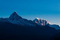 Annapurna Morning First Light (yemaria) Tags: yemaria nikon d800e nikkor annapurna fishtail pokhara nepal sarangkot