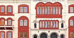 belgrade architecture (poludziber1) Tags: street streetphotography summer architecture city colorful cityscape color capital building belgrado beograd belgrade serbia srbija red urban travel
