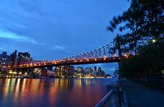 Roosevelt Island, 08.17.16 (gigi_nyc) Tags: queensborobridge bridge night nightshots nyc rooseveltisland newyorkcity summer