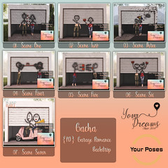 {YD} Garage Romance - Backdrop ({Your Dreams}) Tags: newdecortation yourdreams yourposes partner backdrop garage ironsculpture cute gacha