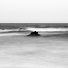 Nayarit Rocks No. 8 (Mabry Campbell) Tags: fourseasons houstonphotographer mexico nayarit pacificcoast puntamita rivieranayarit blackandwhite coast coastal fineartphotography highkey hotel image longexposure photo photograph photography rocks seascape squarecrop tropics f16 mabrycampbell february 2014 february272014 20140227h6a9678 200mm 100sec 100 ef200mmf28liiusm