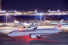 ボーイング787-8 Boeing787-8 (ELCAN KE-7A) Tags: 日本 japan 東京 tokyo 羽田 haneda 国際 空港 international airport 飛行機 航空機 airplane airline 国際線 ターミナル terminal 日本航空 jal jl airlines ボーイング boeing 787 b787 ペンタックス pentax k3ⅱ 2018