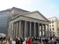 The Pantheon - 2nd trip (#1 ) (jimsawthat) Tags: ancient architecture architecturaldetails urban rome italy pantheon exterior