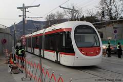 I_B_IMG_8469 (florian_grupp) Tags: asia china train railway railroad passenger electric beijing tram bagou fragranthills xijiao botanicalgardens siemens lrt haidian
