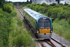 Irish Rail ICR Set 26 at Rosslare Strand. (Fred Dean Jnr) Tags: iarnrodeireann irishrail hyundai rotem tokyu intercityrailcar 22026 rosslarestrandstationwexford wexxford july2010