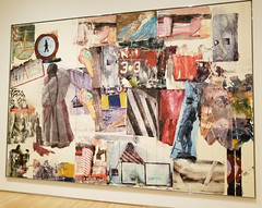 Robert Rauschenberg - Port of Entry [Anagram (A Pun)], 1998 (battyward) Tags: art modern sfmoma museum rauschenberg pointofentry mixedmedia painting sanfrancisco sf