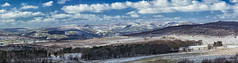 Hope Valley Panorama (little mester.) Tags: derbyshire derbyshirepeakdistrict march2018 minibeastfromtheeast snow spring2018 hopevalley longshaw