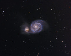 Messier 51 final (kenthelleland) Tags: galaxy messier m51 messier51 whirlpool astrophotography canon celestron nexstar telescope stars universe astronomy skywatcher starizona norway galactic ngc deepsky nightshot sct bodes ursamajor m81 sky night astrometrydotnet:id=nova2489449 astrometrydotnet:status=solved