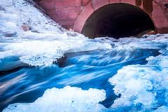 Flowing (Joni Salama) Tags: strömberginpuisto vesi pitäjänmäki efekti jää talvi longexposure nikcollection helsinki suomi luonto helsingfors uusimaa finland fi