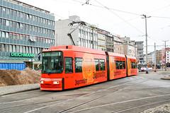 BRS_9561_200505 (Tram Photos) Tags: aeg gt6s niederflur braunschweig bsvag tram tramway strasenbahn vollwerbung ganzreklame jägermeister