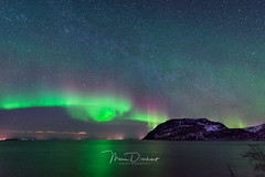 Northern Lights (mousstique) Tags: articcircle norway nightphotography nightscape auroraborealis northernlights bremnes troms no