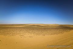 Desert - Minimalist Shot (Photonistan) Tags: desert minimalist blue orange peace monochrome photonistan photography nature naturephotography