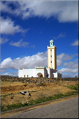 on the top of the world (mhobl) Tags: mosque moschee moscheenminarette blue morocco maroc