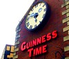 Guinness Time on St Patrick's Day (Tony Worrall) Tags: north capture outside outdoors caught photo shoot shot picture captured clock drink sign signage guinness time face wall large ireland guinnesstime stpatricksday paddy belfast open northern place city country northernireland