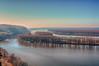 Looking down the Mississippi (kendoman26) Tags: mississippiriver river bridge nikon nikond3300 nikhdrefexpro2 hdr niksoftware tokinaatx1228prodx tokina tokina1228