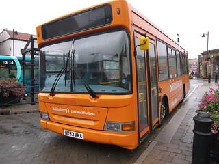 NK53 VKA Transbus Dart SLF / MPD (Plaxton Pointer 2) - Arriva North East 1759 / Sainsbury's