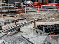 CBD & South East Light Rail - Circular Quay - Update 21 March 2018 (1) (john cowper) Tags: cselr sydneylightrail circularquay georgestreet alfredstreet construction tracklaying trackslab infrastructure acconia alignment alignmnent transportfornsw sydney newsouthwales