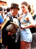 Dr. Takeshi Yamada and Seara (Coney Island sea rabbit). Brooklyn, New York.     20160626Sun Gay Pride Parade. DSCN7086=p3050C2 (searabbit29) Tags: takeshiyamada fineartexhibitions museumcollections famous japanese japaneseamerican artist osaka tokyo japan tv painting sculpture photography graphicdesign sideshow freakshow banner gaff performance fashiondesign fashion tophat jabot jewelrydesign victorian gothic goth steampunk dieselpunk fashiondesigner playboy bikini roguetaxidermist roguetaxidermy taxidermist taxidermy specialeffect cabinetofcuriosities dimemuseum seara searabbit coneyisland mythiccreature cryptozoology cryptid brooklyn newyorkcity nyc newyork