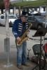 Saxophone Street Performer (Scott 97006) Tags: man musician guy artist saxophone player uniform street