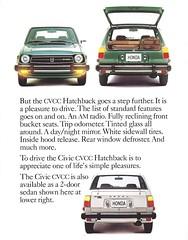 1979 Honda CiViC (Hugo-90) Tags: honda car auto automobile vehicle jdm ads advertising brochure catalog 1979 civic
