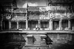 Escaping the Crowds (jameslf) Tags: angkor angkorwat architecture buildings cambodia siemreap temples