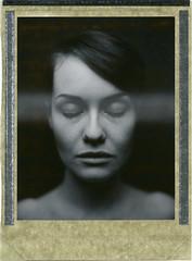 S. (denzzz) Tags: portrait polaroid polaroid54 expired analogphotography filmphotography instantfilm wista45dx 4x5 largeformat blackwhite blackandwhite skancheli