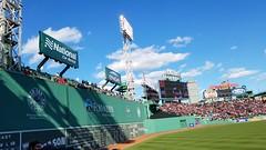 Boston Red Sox Opening Day 2018, Fenway Park shadows (bpephin) Tags: redsox boston fenway baseball mlb team win monster green greenmonster