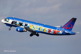 OO-SND Brussels Airlines Airbus A320-214
